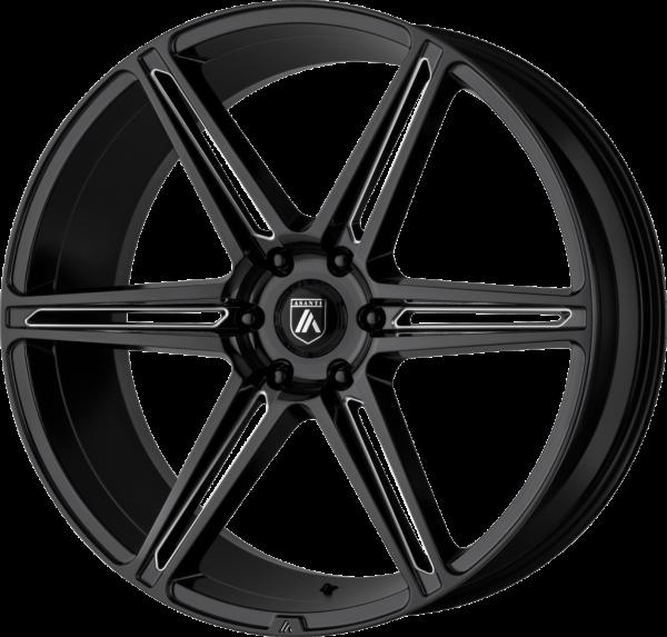 abl 25 gloss black milled